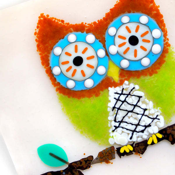 Guided Glassroom: Owl Plate