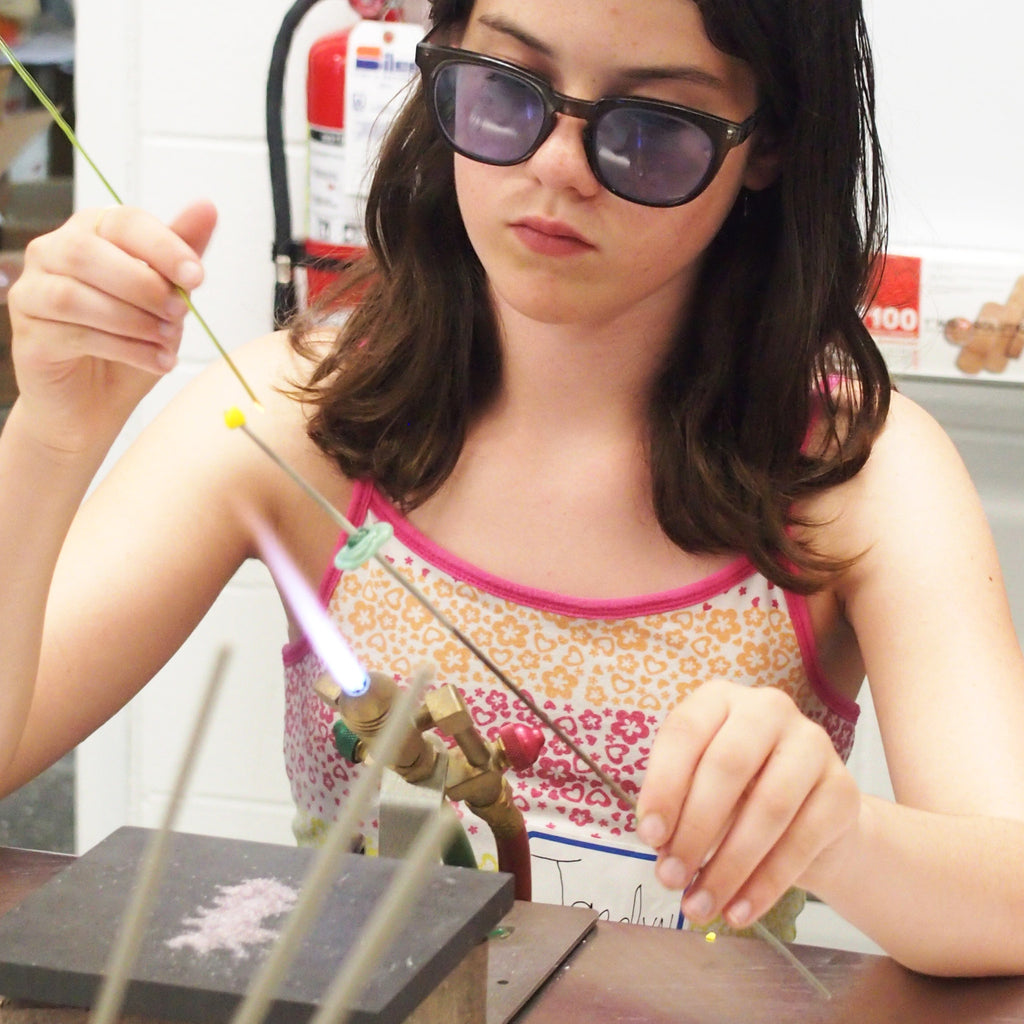 Teen Intro to Glass Bead Making