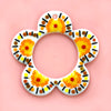 TO-GO KIT: Yellow Flower Wreath
