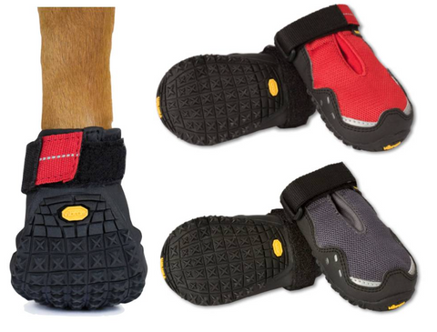 non-slip boots can help arthritic dog with reduced muscle mass and those who have difficulty balancing.