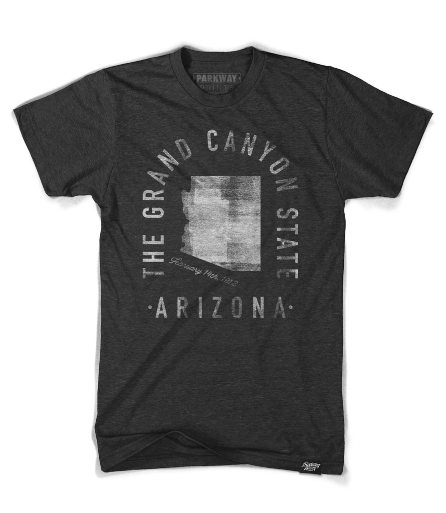State of Arizona Motto Shirt - Parkway Prints