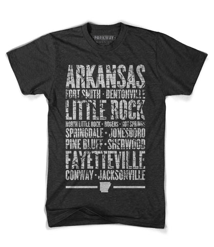 Arkansas State Shirt - Unisex - Parkway Prints