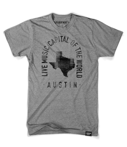 Austin - Texas - City Motto Shirt - Unisex - Parkway Prints