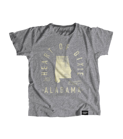 State of Alabama Motto Youth Shirt - Parkway Prints