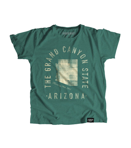State of Arizona Motto Youth Shirt - Parkway Prints