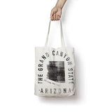State of Arizona - Motto - Tote Bag - Parkway Prints