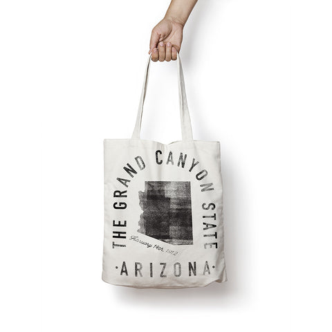 State of Arizona - Motto - Tote Bag
