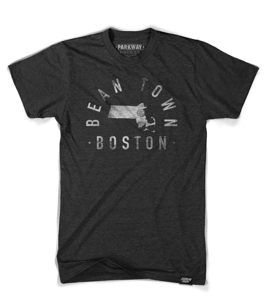 Boston - Massachusetts - City Motto Shirt - Unisex - Parkway Prints