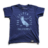 State of California Motto Youth Shirt - Parkway Prints
