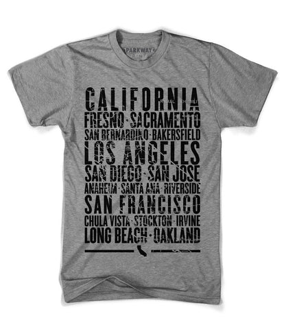 California State Shirt - Unisex - Parkway Prints