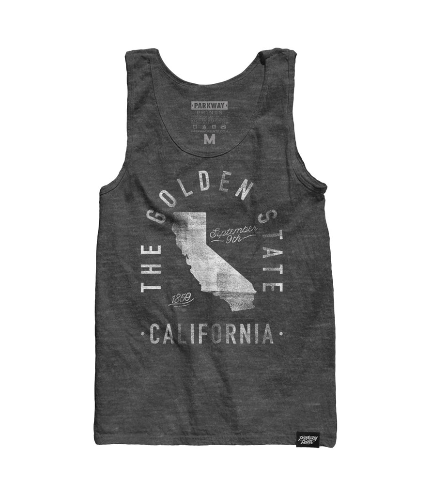 State of California - Motto - Tank Top - Parkway Prints