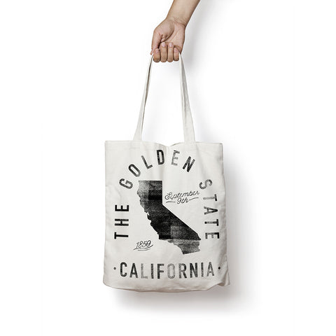 State of California - Motto - Tote Bag