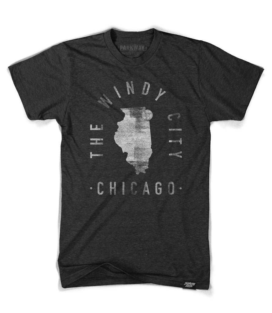 Chicago - Illinois - City Motto Shirt - Unisex - Parkway Prints