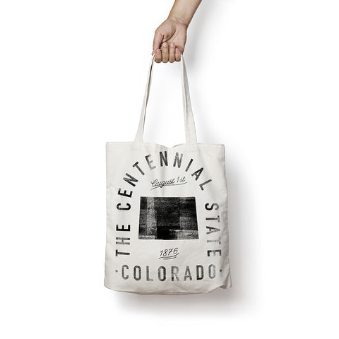 State of Colorado - Motto - Tote Bag