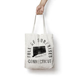 State of Connecticut - Motto - Tote Bag - Parkway Prints