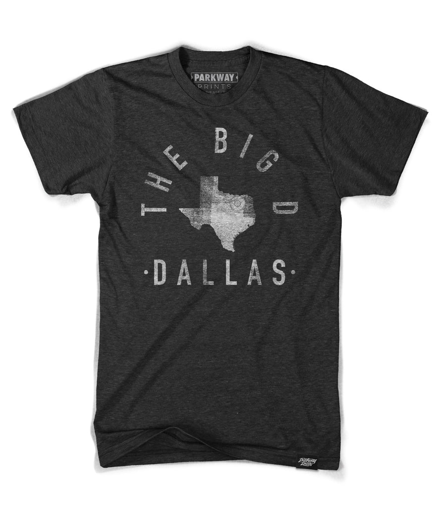 Dallas Texas - City Motto Shirt - Unisex - Parkway Prints