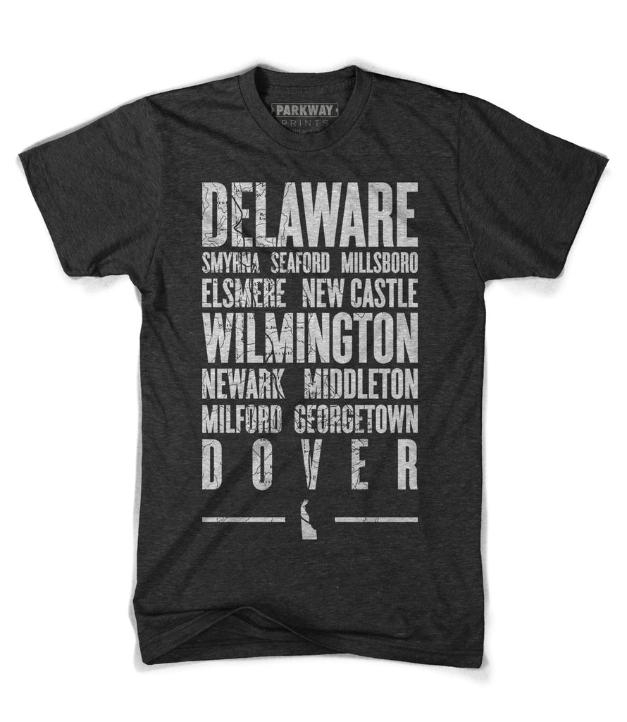 Delaware State Shirt - Unisex - Parkway Prints