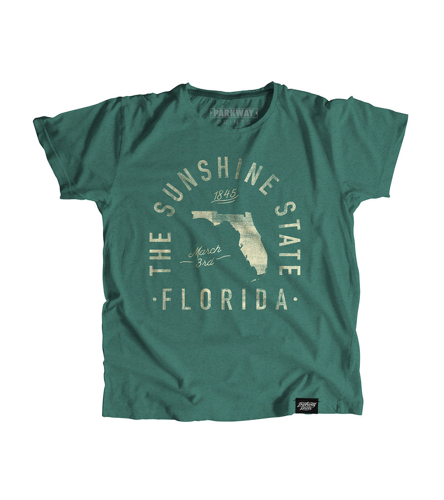State of Florida Motto Youth Shirt - Parkway Prints