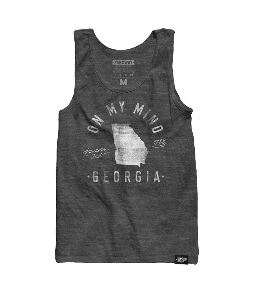 State of Georgia - Motto - Tank Top - Parkway Prints