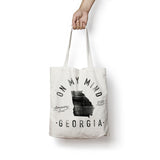 State of Georgia - Motto - Tote Bag