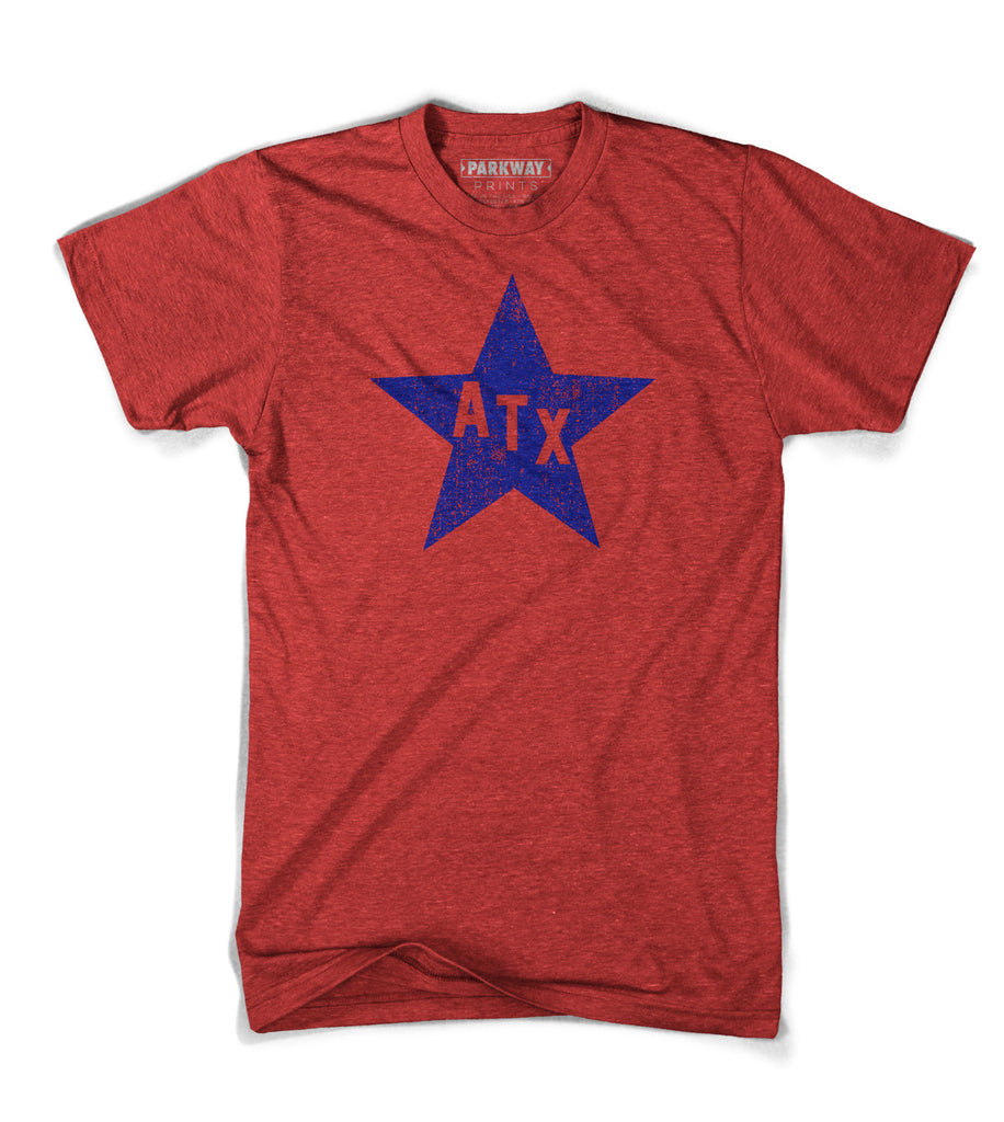 Little Blue Star of Texas - Parkway Prints