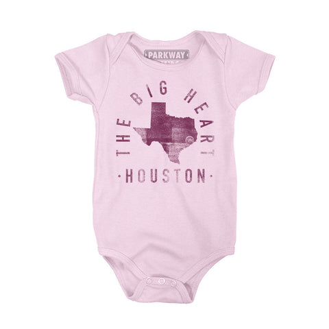 Houston Texas - City Motto Onesie - Unisex - Parkway Prints