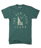 State of Idaho Motto Shirt - Parkway Prints