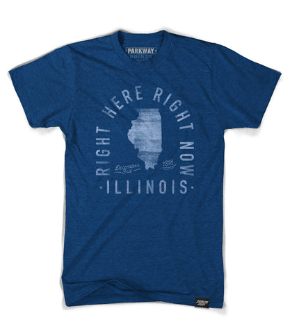 State of Illinois Motto Shirt - Parkway Prints
