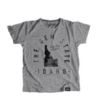 State of Idaho Motto Youth Shirt - Parkway Prints