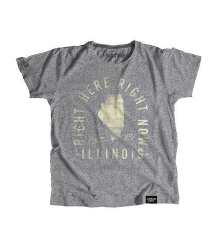 State of Illinois Motto Youth Shirt