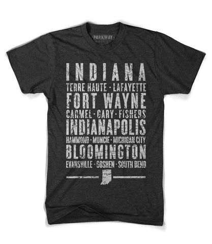 Indiana State Shirt - Unisex - Parkway Prints