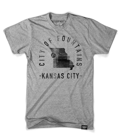 Kansas City Missouri - City Motto Shirt - Unisex - Parkway Prints
