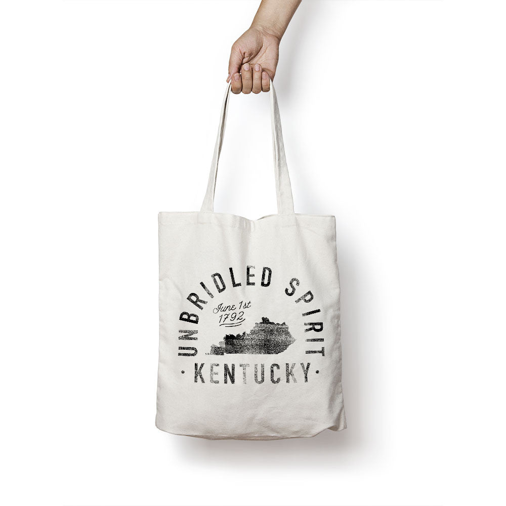 State of Kentucky - Motto - Tote Bag