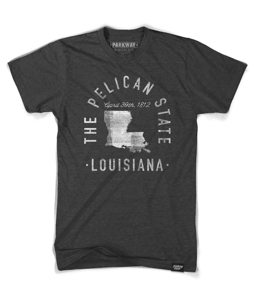 State of Louisiana Motto Shirt - Parkway Prints