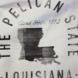 State of Louisiana - Motto - Tote Bag - Parkway Prints