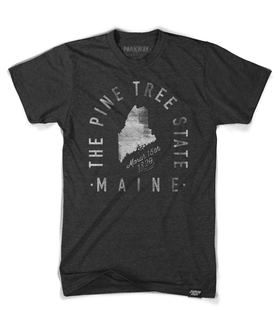 State of Maine Motto Shirt - Parkway Prints
