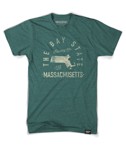 State of Massachusetts Motto Shirt - Parkway Prints