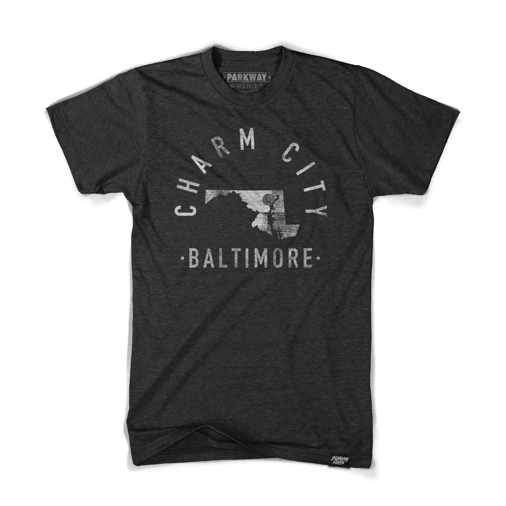 Baltimore - Maryland - City Motto Shirt - Unisex - Parkway Prints