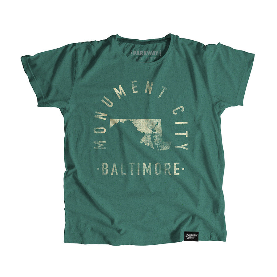 Baltimore Maryland - City Motto Youth Shirt