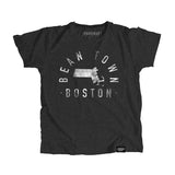 Boston Massachusetts - City Motto Youth Shirt - Parkway Prints