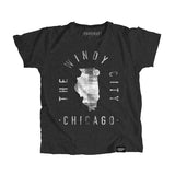 Chicago Illinois - City Motto Youth Shirt - Parkway Prints