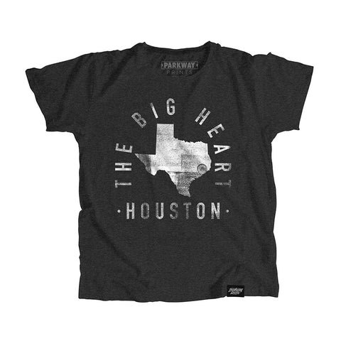 Houston Texas - City Motto Youth Shirt - Parkway Prints