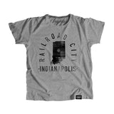 State of Indiana Motto Youth Shirt - Parkway Prints