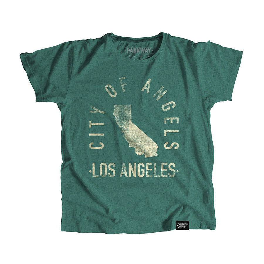 Los Angeles California - City Motto Youth Shirt - Parkway Prints