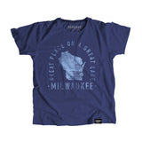 Milwaukee Wisconsin - City Motto Youth Shirt - Parkway Prints