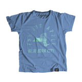 New York New York - City Motto Youth Shirt - Parkway Prints