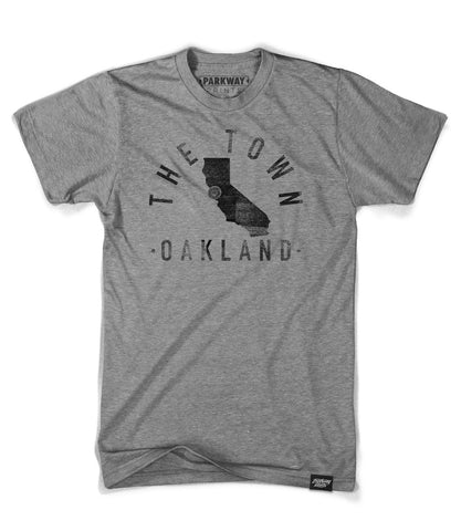 Oakland California - City Motto Shirt - Unisex - Parkway Prints