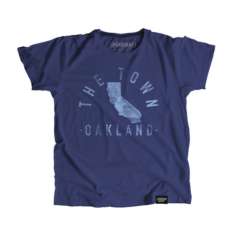 Oakland California - City Motto Youth Shirt - Parkway Prints