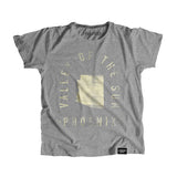 Phoenix Arizona - City Motto Youth Shirt - Parkway Prints