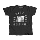 Portland Oregon - City Motto Youth Shirt - Parkway Prints